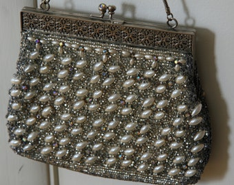 Vintage Beaded Bag