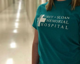 GREY'S ANATOMY T-Shirt - Grey Sloan Memoral Hospital - tv show