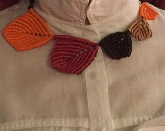 Makrame Neckles,five colors