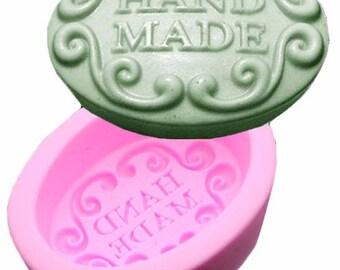 Handmade Oval Soap Mold