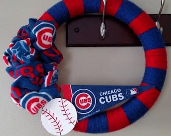 Sports Yarn Wreath