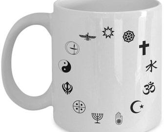 Coexists Symbols Circle  Coffee Mug Tea Gift Spiritual