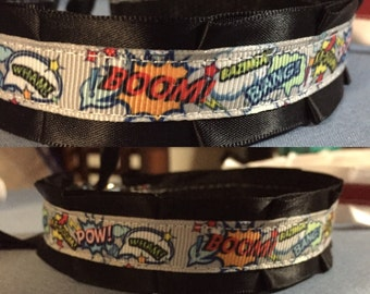 Hero comic slang collar