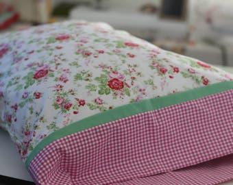 Shabby Chic Standard Size Pillowcase