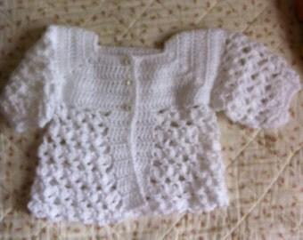 For newborn white Chaleca