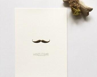 Handlebar Mustache - Original Painting