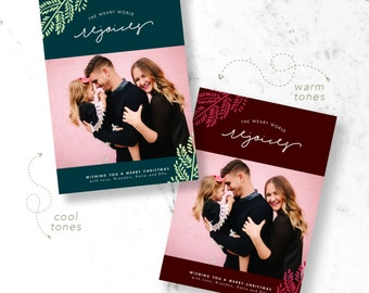 Rejoice Holiday Photo Cards