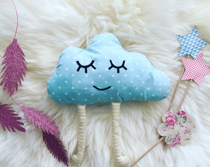 "Plush ""Mr. cloud"""