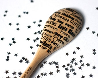 Personalised Christmas Noel Xmas Spoon