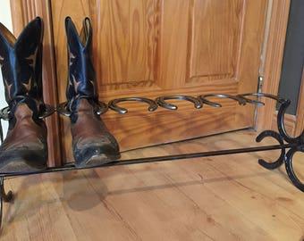 Horseshoe Boot Rack (3 Pair)
