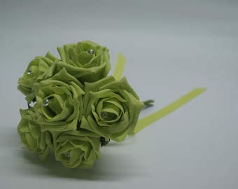 Wedding Posy - Perfect for Bridesmaids ( Lime )
