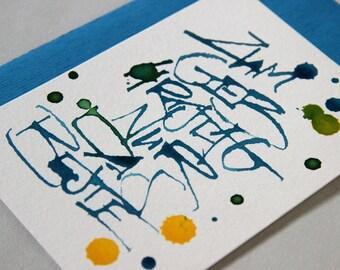 Birthday card - greeting card