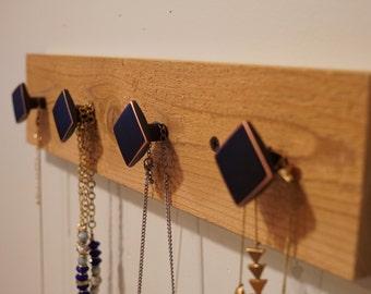 Rough Cedar Jewelry/Accessory Rack