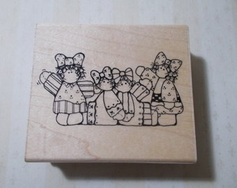 Dollies Rubber Stamp