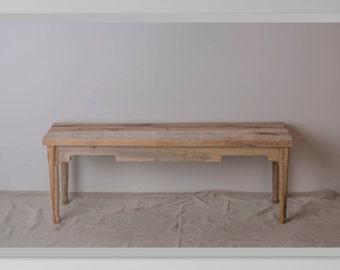 Relclaimed Oak Bench