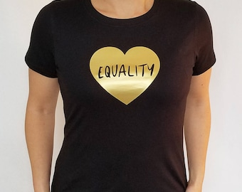 Equality (Heart) -- T-Shirt