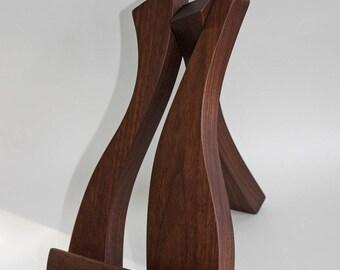 Tablet/iPad Stand, Handmade in Ireland, Solid Wood