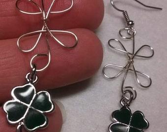 St. Pattys Day earrings