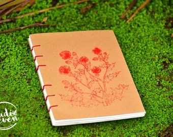 Handmade Sustainable Journal - Enchanted Forest collection