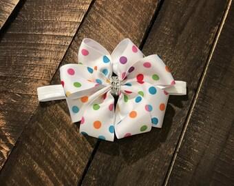 Confetti Double Boutique Bow