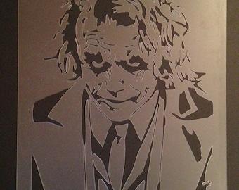 Joker #1 Stencil 10mil Free Shipping!