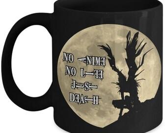 15oz No Anime No Life Just Death Death Note Ryuk Coffee Mug Cup