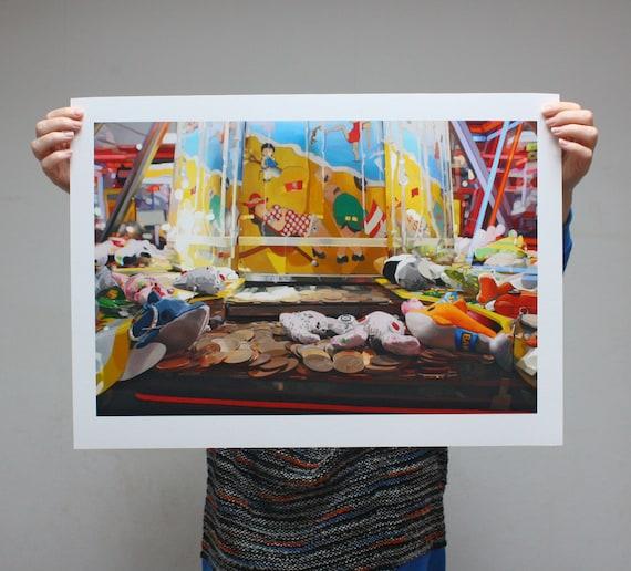 2p Pusher - Limited Edition Print - 61cm x 43.5cm
