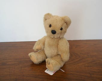 Vintage Small Teddy Bear w/ Moveable Arms and Legs