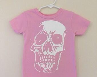 Girls Sketchy Skull Tee