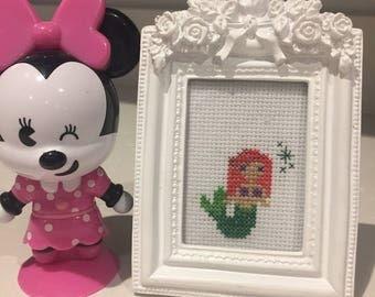 Little Mermaid cross stitch