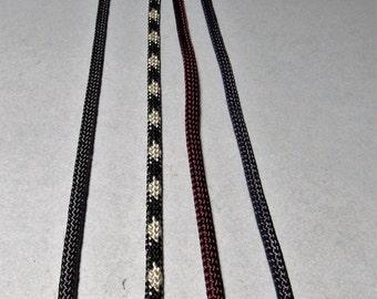 36 inch Vinyl Bolo Tie Cords