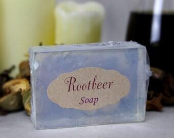 Rootbeer Glycerine Soap Goats Milk Soap