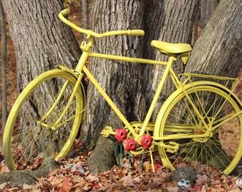 Bike Photography, Bike Wall Art, Rustic Photo, Outdoor Photography, Gifts For her, Fun Photo