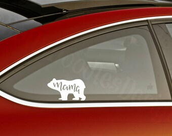 Mama Bear Decal - Mama Mother Mom