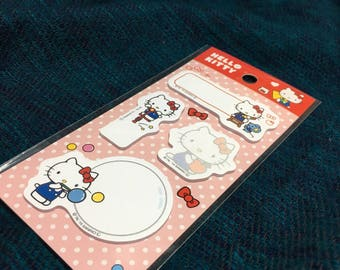 Hello kitty sanrio stickey tabs from Japan