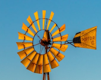 The Aermotor Windmill Fine Art Print
