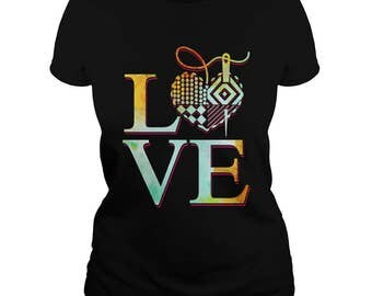 SEWING LOVE T-Shirt.sewing is my love t-shirt,sewing room t-shirt,sewing mom's gift,sewing lovers tee,sewing lovers t-shirt,sewing gift tees