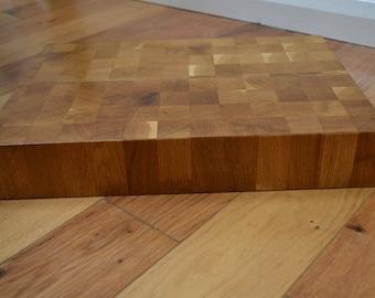 Oak End Grain Butcher Block / Chopping Board