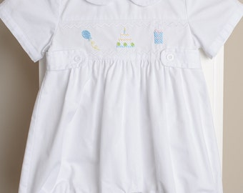 Birthday Baby Shortall Romper