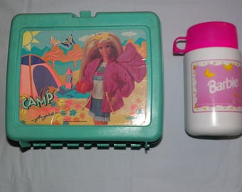 Vintage Barbie Lunchbox and Thermos