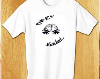 Open Minded Tee (original artwork by Ms. Renee)
