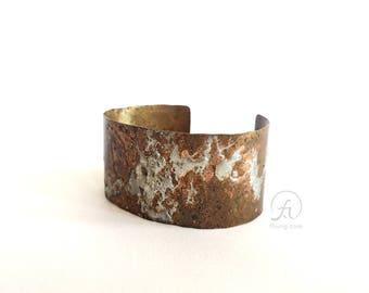 one-of-a-kind artistmade copper bracelet | FBR2017003
