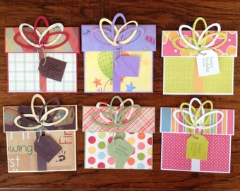 Gift Card Holders Set #2
