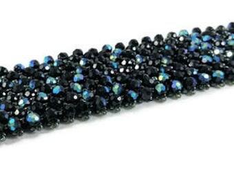 Starry Night Jewelry, Seed Bead Bracelet, Belly Dance Bracelet, Tribal Fusion, Steampunk Jewelry, Plus Size Jewelry, Wicked Jewelry