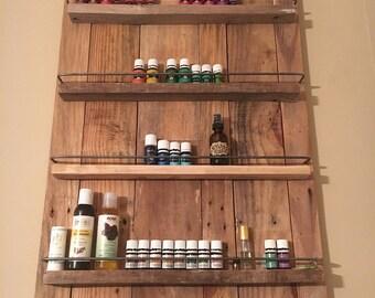 essential oil wood holder
