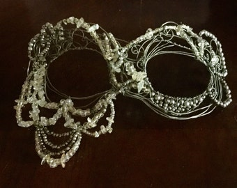 Mermaid Lace Masquerade Mask (free shipping)