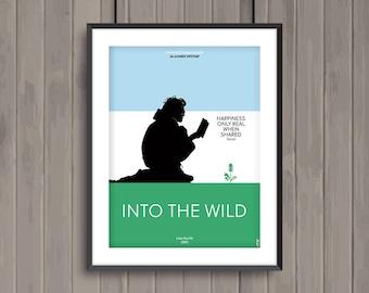 INTO THE WILD, minimalist movie poster