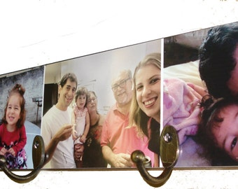 Wall Clothes Hangers with your own photos.