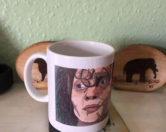 Scissorhands mug cup art print tea coffee mug