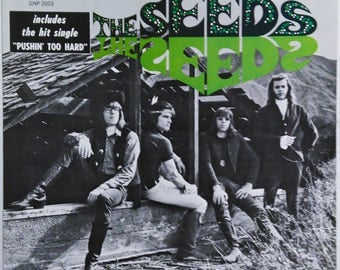 Seeds S/T 60s Garage Lp Pushin Too Hard Sky Saxon NM- GNP Crescendo